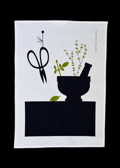 Kitchen towel »Mortar»
