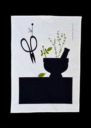 Tea towel »Mortar»