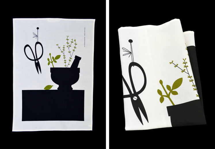 Tea towel »Mortar»