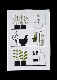 Kitchen towel »Spice Rack»